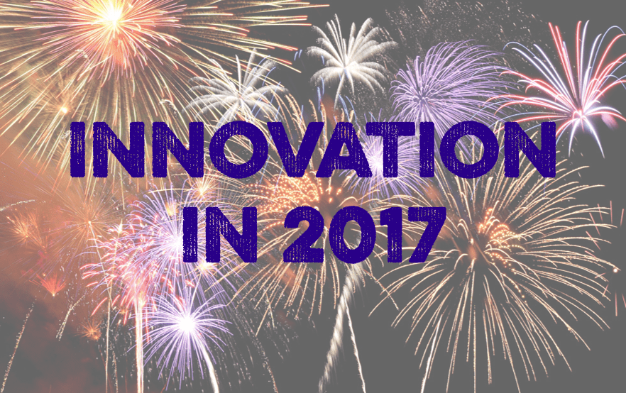 3 wise people celebrate what innovation can achieve